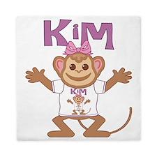 kim-g-monkey Queen Duvet
