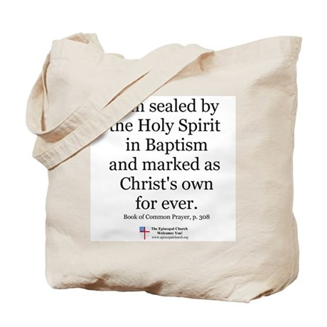 Sealed by the Spirit Tote Bag