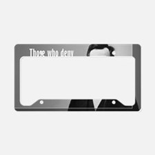 Lincoln Quote Slavery License Plate Holder