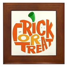 TrickorTreat Framed Tile