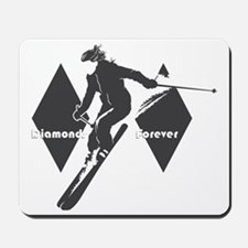 diamonds forever Mousepad