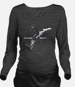 diamonds forever Long Sleeve Maternity T-Shirt