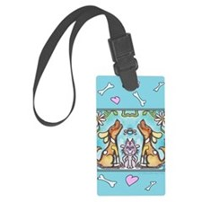 pets card 2 Luggage Tag