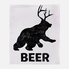 beer1 Throw Blanket