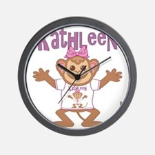 kathleen-g-monkey Wall Clock