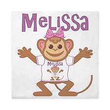 melissa-g-monkey Queen Duvet