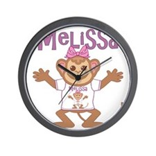 melissa-g-monkey Wall Clock
