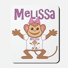 melissa-g-monkey Mousepad