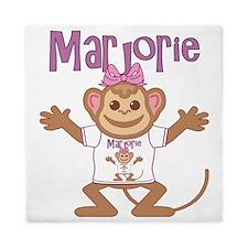 marjorie-g-monkey Queen Duvet