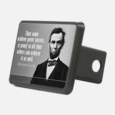 Lincoln Quote Success Hitch Cover