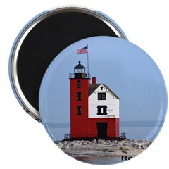 Great Lakes Light Houses Magnet