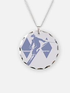 diamonds forever lavender Necklace