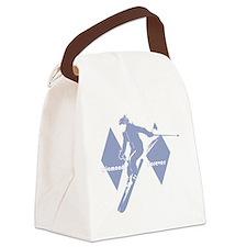 diamonds forever lavender Canvas Lunch Bag