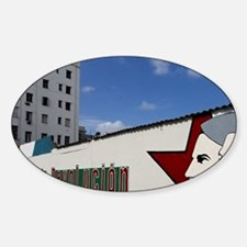 UNESCO World Heritage City. Revolut Sticker (Oval)