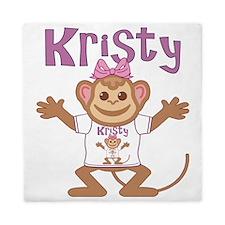 kristy-g-monkey Queen Duvet
