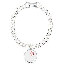 I Heart Music-dk bkgrd.G Bracelet