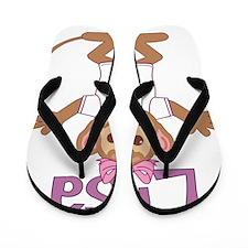 lisa-g-monkey Flip Flops