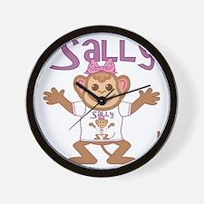sally-g-monkey Wall Clock