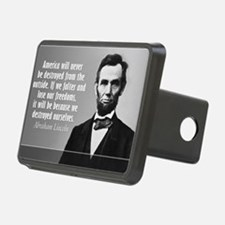 Lincoln Quote Aneruca Hitch Cover