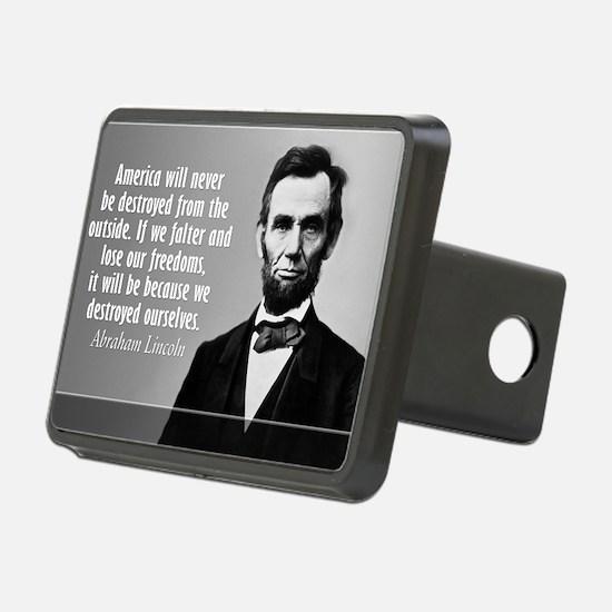 Lincoln Quote Aneruca Hitch Cover
