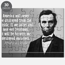 Lincoln Quote Aneruca Puzzle