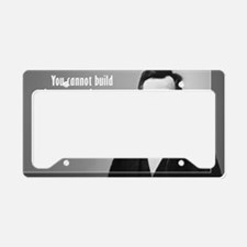 Lincoln Quote Character License Plate Holder