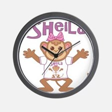 sheila-g-monkey Wall Clock