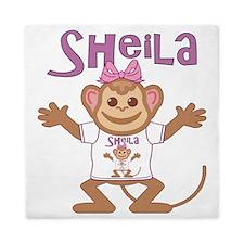 sheila-g-monkey Queen Duvet