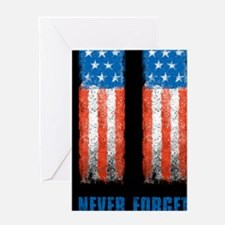 911_NEVERFORGET_10X14 Greeting Card
