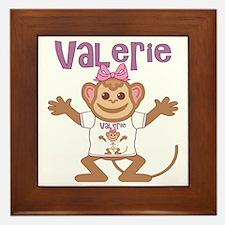 valerie-g-monkey Framed Tile
