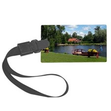 SundbornLake-longer4 Luggage Tag