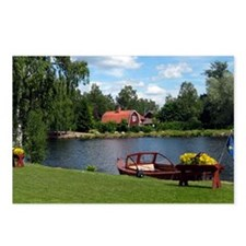 SundbornLake-longer4 Postcards (Package of 8)
