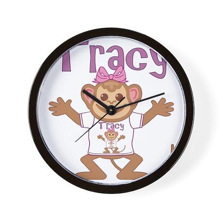 tracy-g-monkey Wall Clock