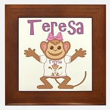teresa-g-monkey Framed Tile