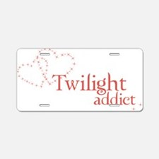 twilightaddict Aluminum License Plate