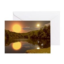 SecludedDusk2066H Greeting Card