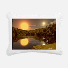SecludedDusk2066H Rectangular Canvas Pillow