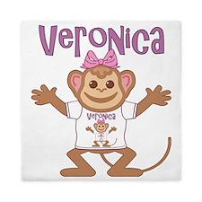 veronica-g-monkey Queen Duvet