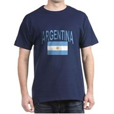 Argentina Oval Flag T-Shirt