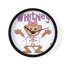 whitney-g-monkey Wall Clock