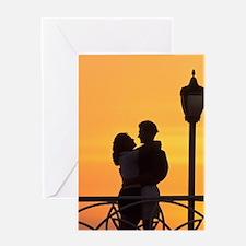 Caribbean, Aruba, Romantic couple si Greeting Card
