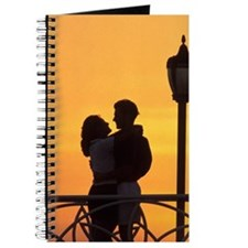 Caribbean, Aruba, Romantic couple silhouet Journal