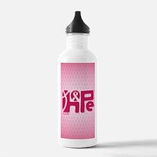 11x17_HopeRibbon_BG02b Water Bottle