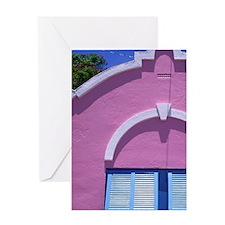 Caribbean, Bermuda. Government house Greeting Card