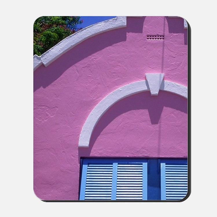 Caribbean, Bermuda. Government house. Mousepad