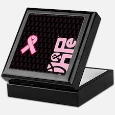 FlipFlops_HopeRibbon_BG03a Keepsake Box