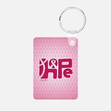 kindle_HopeRibbon_BG02b Keychains