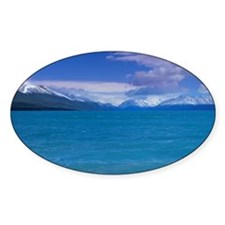 Lake Pukaki with Mt. Cook in the ba Decal