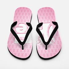 kindle_HopeRibbon_BG02a Flip Flops