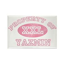 Property-of-Yazmin Rectangle Magnet